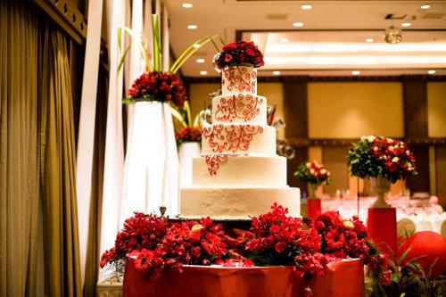 ติดต่อเรื่องเค้กแต่งงานกับโต๊ะเค้ก